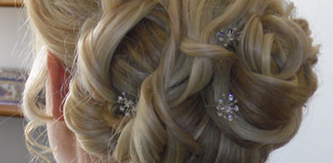 Mobile wedding hair stylist cheshire jo sellers wedding make up